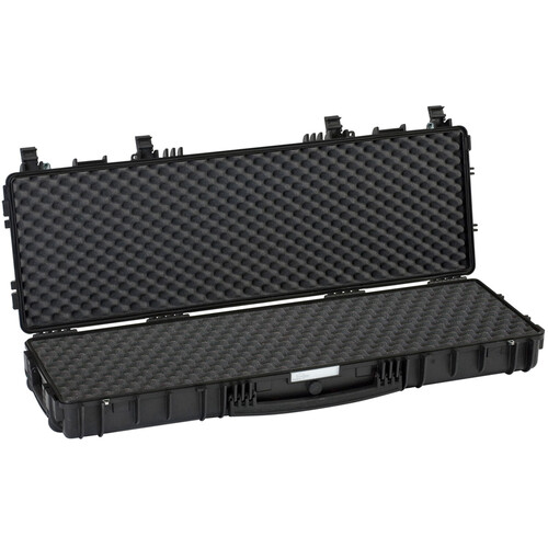 Explorer Cases 11413 Wheeled Hard Rifle Case with Convoluted Foam Insert (Black)