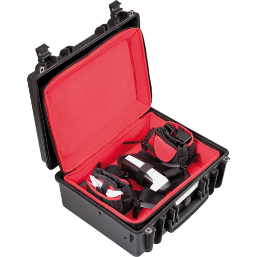 Explorer Cases Hard Case & Soft Padded Bag with Backpack Straps Combo for Parrot or Similar Drone Kit