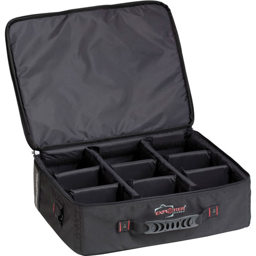 Explorer Cases Bag-A with Dividers for 4419 Case (Black)