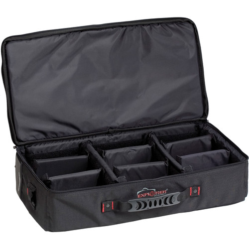 Explorer Cases Bag-B with Dividers for 5117 and 5122 Cases (Black)