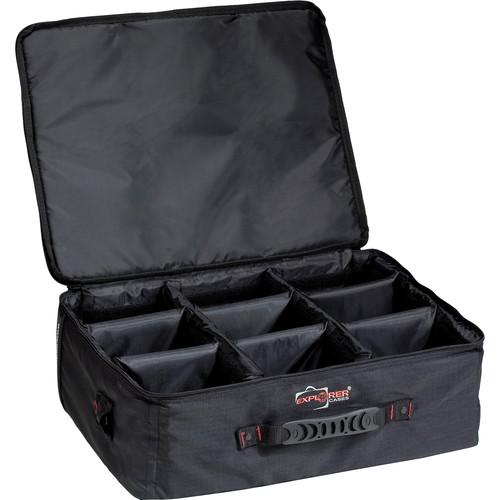 Explorer Cases BAG-F Padded Bag with Adjustable Dividers (Black)