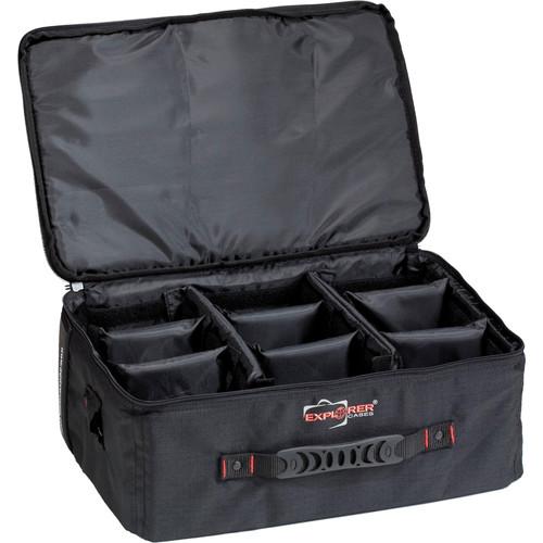 Explorer Cases BAG-G Padded Bag with Adjustable Dividers (Black)