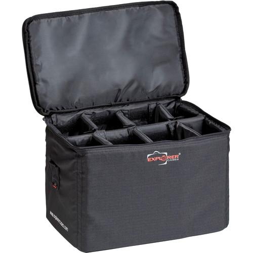Explorer Cases BAG-L Padded Bag with Adjustable Dividers (Black)