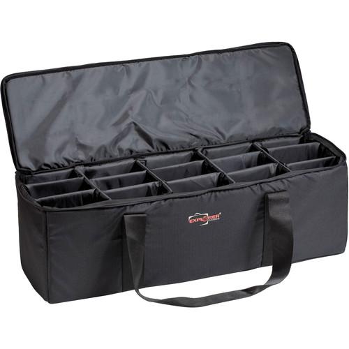 Explorer Cases BAG-M Padded Bag with Adjustable Dividers (Black)