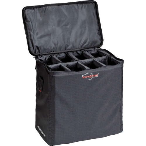 Explorer Cases BAG-O Padded Bag with Adjustable Dividers (Black)