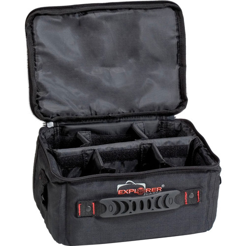 Explorer Cases BAG-S Padded Bag with Adjustable Dividers (Black)