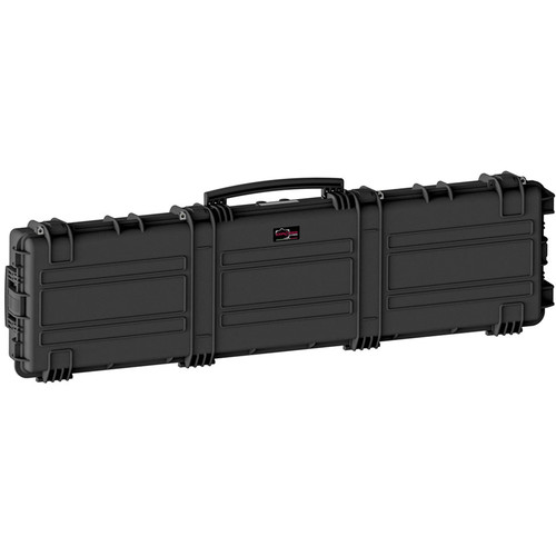 Explorer Cases Large Hard Case 15416 X-Long Rifle Case with Foam & Wheels (Black)