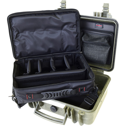 Explorer Cases 3317 Case with BAG-T and Panel-33 (Olive)