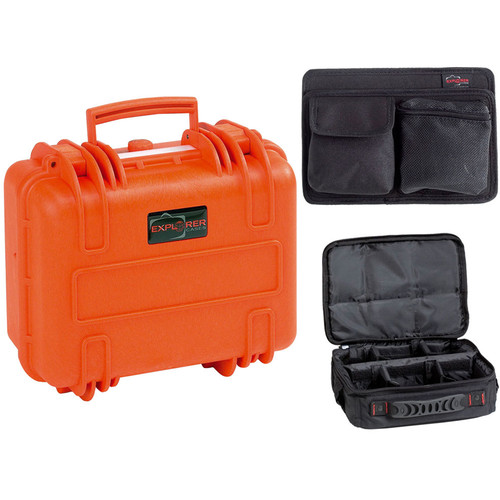 Explorer Cases 3317 Case with BAG-T and Panel-33 (Orange)