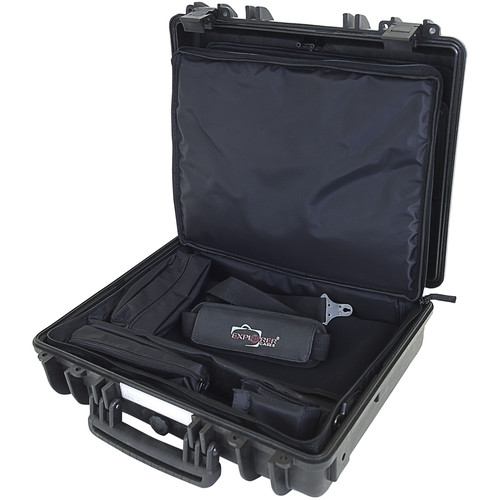 Explorer Cases 4412 Case with BAG-PC44 and Panel-44 (Black)