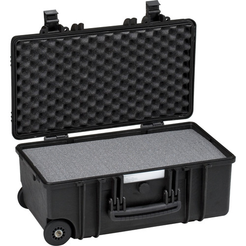 Explorer Cases Medium Hard Case 5122 & Wheels with Foam (Black)