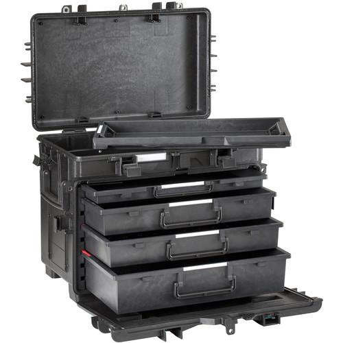 Explorer Cases 5140BKT02 Waterproof 4-Drawer Trolley Tool Case
