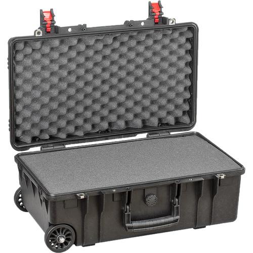 Explorer Cases Medium Hard IATACase 5221B & Wheels with Foam (Black)