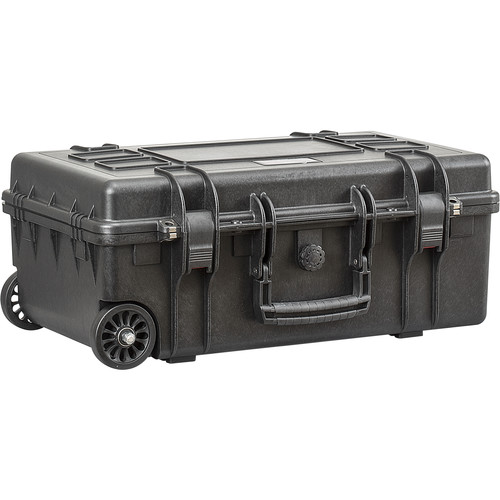 Explorer Cases Medium Hard IATACase 5221BE & Wheels without Foam (Black)