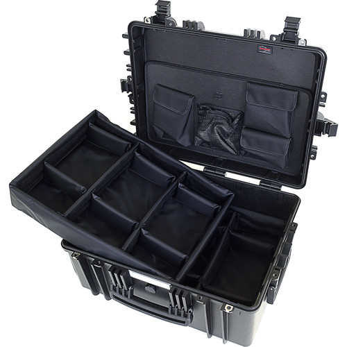 Explorer Cases 5325 Case with DIVIDER-V and Panel-53 (Black)