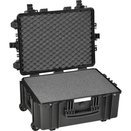 Explorer Cases Medium Hard Case 5326 with Foam & Wheels (Black)