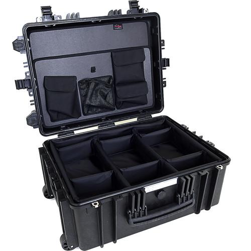 Explorer Cases 5326 Case with DIVIDER-V and Panel-53 (Black)