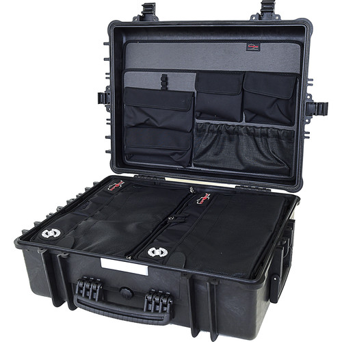 Explorer Cases 5822 Case with 2 x BAG-G and Panel-58 (Black)