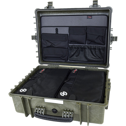Explorer Cases 5822 Case with 2 x BAG-G and Panel-58 (Olive)