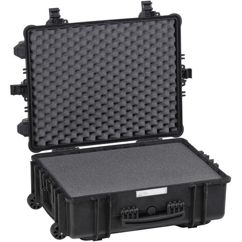Explorer Cases Large Hard Case 5823 B with Foam & Wheels (Black)