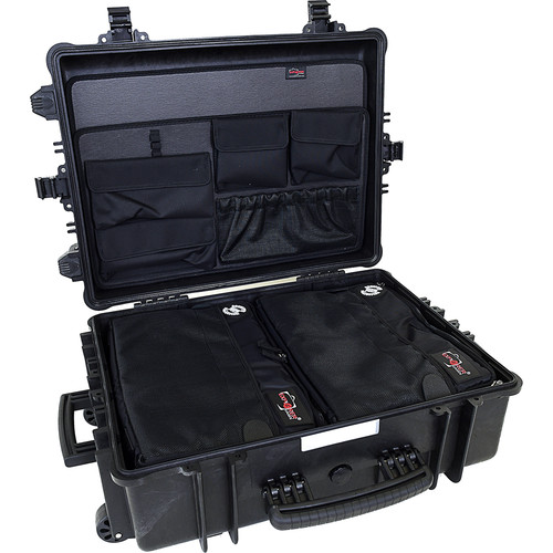 Explorer Cases 5823 Case with 2 x BAG-G and 2 x PANEL-58 (Black)