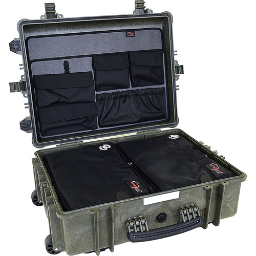 Explorer Cases 5823 Case with 2 x BAG-G and 2 x PANEL-58 (Olive)