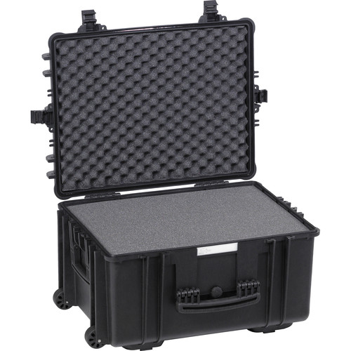 Explorer Cases Large Hard Case 5833 B with Foam & Wheels (Black)
