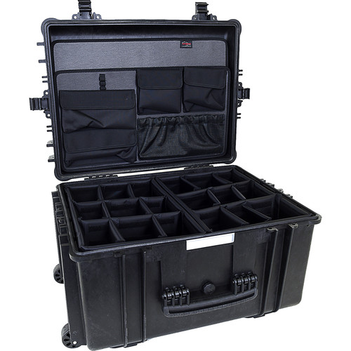 Explorer Cases 5833 Case with 2 x BAG-G and 2 x DIV-I with PANEL-58 (Black)
