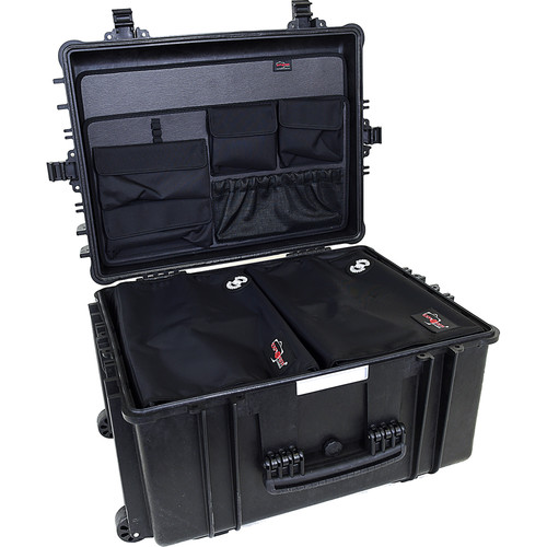 Explorer Cases 5833 Case with 2 x DIV-H with PANEL-58 (Black)