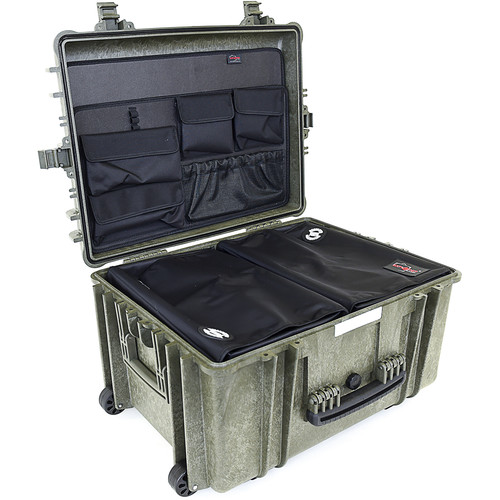 Explorer Cases 5833 Case with 2 x DIV-H with PANEL-58 (Olive)