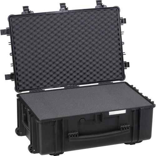 Explorer Cases Large Hard Case 7630 B with Foam & Wheels (Black)
