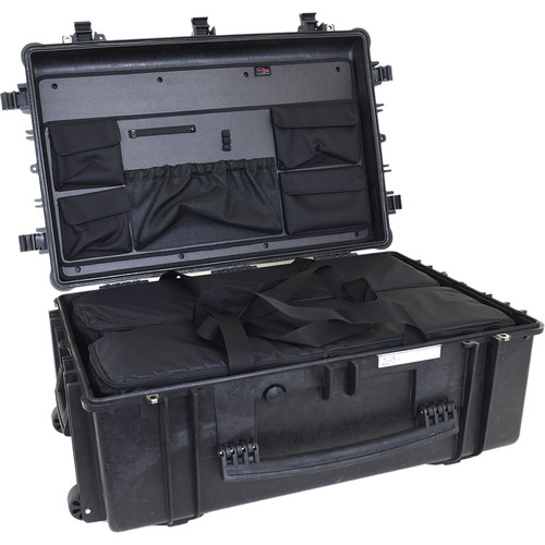 Explorer Cases 7630 Case with 2 BAG-Ms and Panel-76 (Black)