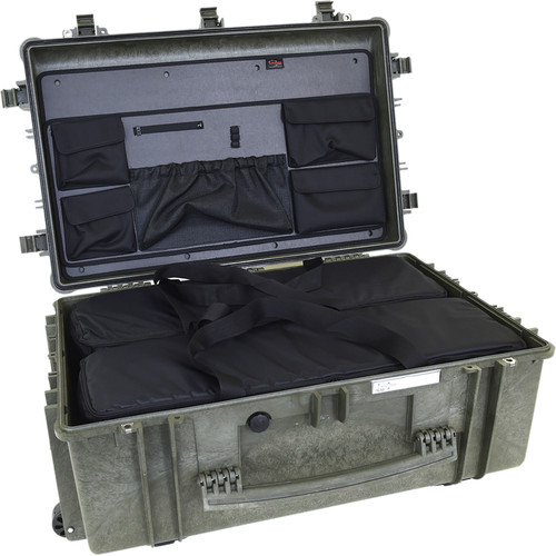 Explorer Cases 7630 Case with 2 BAG-Ms and Panel-76 (Olive)