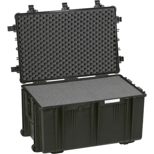 Explorer Cases Large Hard Case 7641 B with Foam & Wheels (Black)