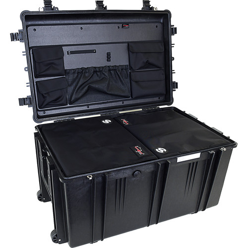 Explorer Cases 7641 Case with 2 DIV-Qs and Panel-76 (Black)