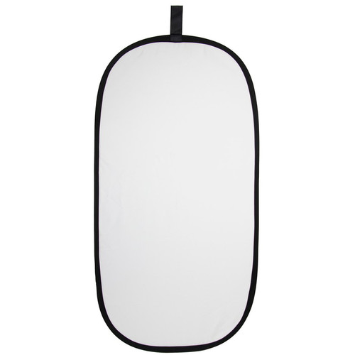 "ExpoImaging 2-In-1 Super Soft Collapsible Reflector (20x40"", Silver/Natural White)"