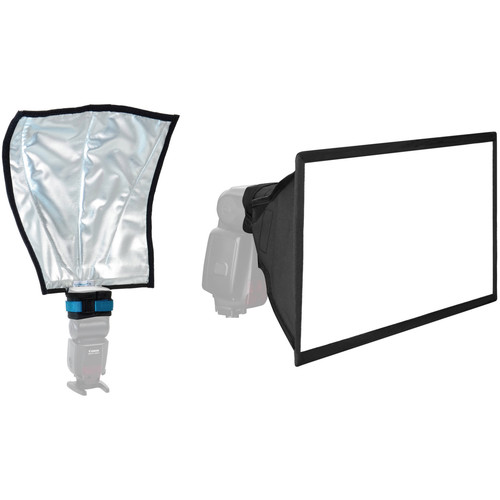ExpoImaging Rogue FlashBender and Vello Softbox Kit