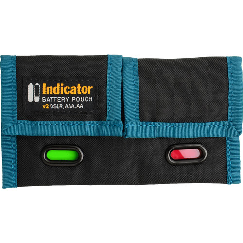 Rogue Photographic Design Indicator Battery Pouch v2 (Black/Blue)