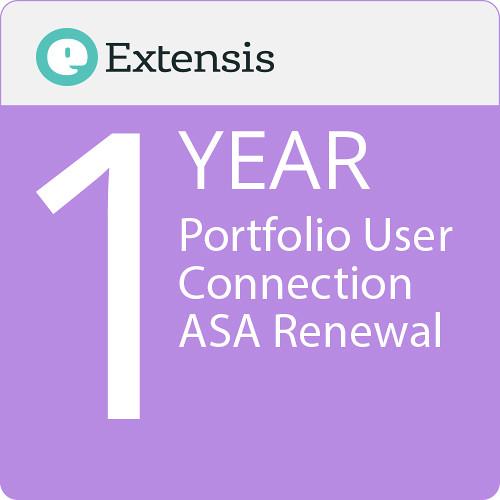 Extensis Portfolio User Connection ASA Renewal (1-Year, Download)