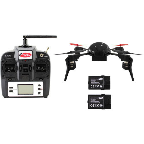 Extreme Fliers Micro Drone 3.0 Basic Drone with Spare Battery Kit (No Camera)