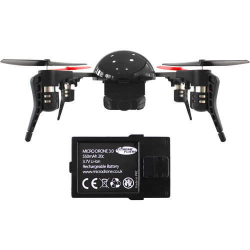 Extreme Fliers Micro Drone 3.0 Standard Bundle with Spare Battery Kit