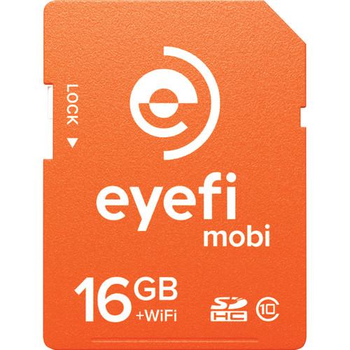 Eyefi 16GB Mobi SDHC Wi-Fi Memory Card (Class 10)