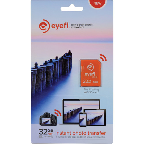 Eyefi 32GB Mobi SDHC Wi-Fi Memory Card (Class 10)