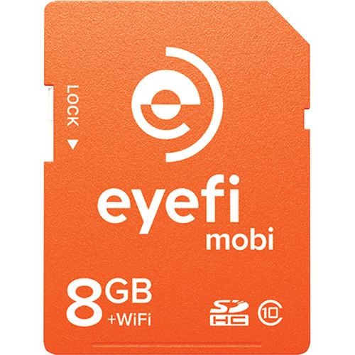 Eyefi 8GB Mobi SDHC Wi-Fi Memory Card (Class 10)
