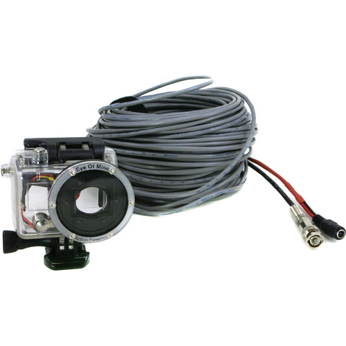 Eye Of Mine GoPro HERO2 Underwater Integrated Power/Video Live Video Out Housing (100')
