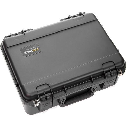 Eyedirect Rolling Case for EyeDirect Mark II with Custom Cut Foam