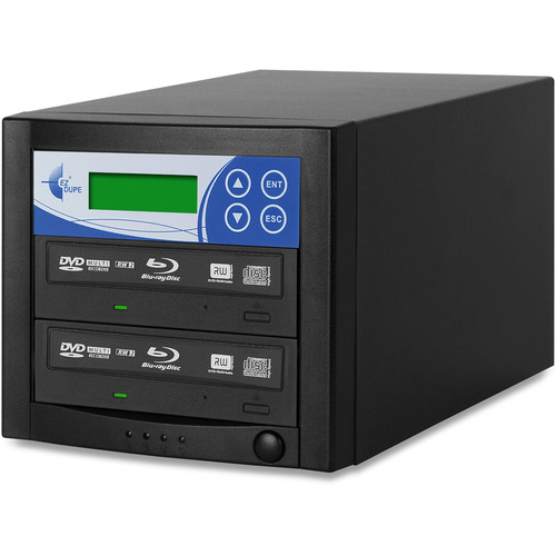 EZ Dupe 1-Copy 16x Blu-ray, DVD, and CD Duplicator