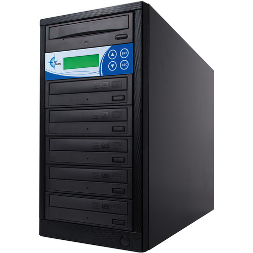 EZ Dupe 5-Copy 16x Blu-ray, DVD, and CD Duplicator