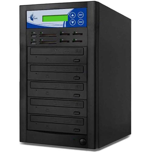 EZ Dupe Media Mirror Plus 4-Copy Multi-Format Duplicator