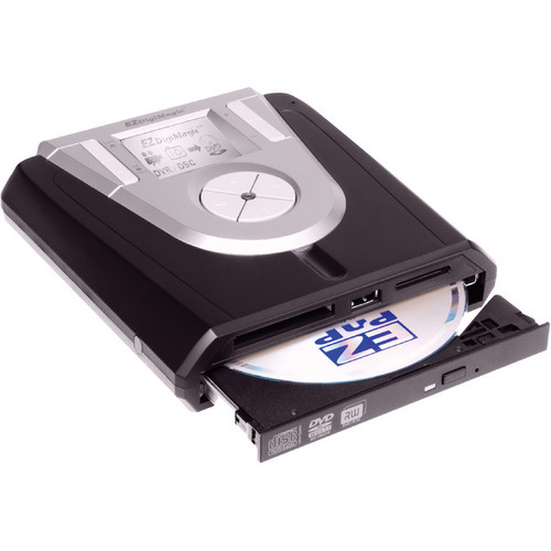 EZPnP Technologies DM220-P08 Portable DVD Burner (with Viewing Screen)